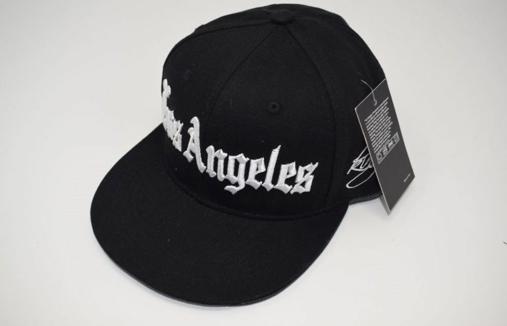 C51-C5941, LOS ANGELES BLACK  Snapback Caps One size fits all adjustable
